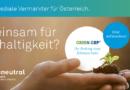 IP Österreich ist Klimaschutzpartner der Green GRP Initiative und startet erste klimaneutrale Kampagne