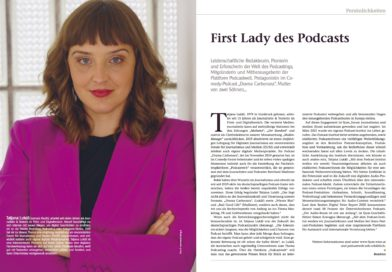 First Lady des Podcast